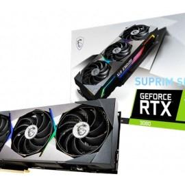 MSI Releases GeForce RTX 3080, RTX 3070 SUPRIM SE Models