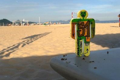 Collage Tarek à Rio