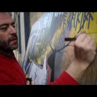 Live painting à la galerie JPHT