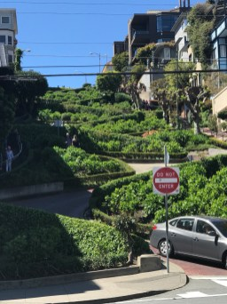 "Lombard Street ""Crookedest Street"""