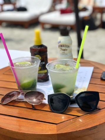 Sunblock + Mojitos + Sunglasses = Perfect Beach Day