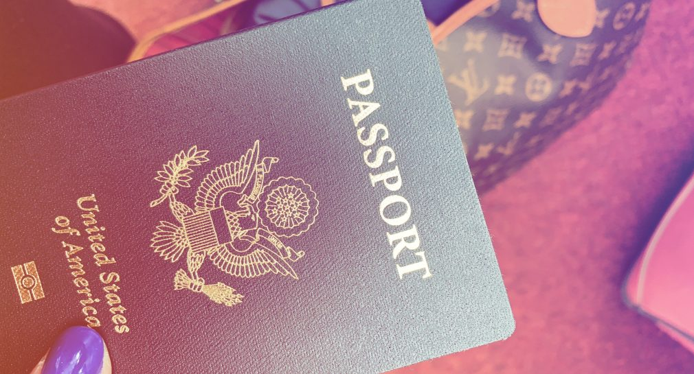 Taren Tooten TarenUpEurope Travel Passport