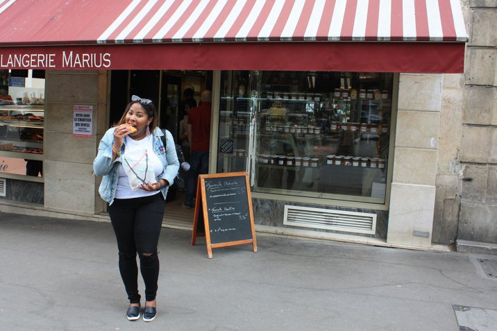 Taren Tooten France Paris #TarenUpEurope Chocolate Croissant