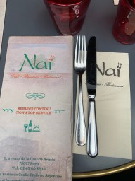 Brasserie Naï in Paris