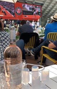 Rose Roland Garros French Open
