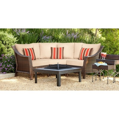 target outdoor patio furniture sets Outdoor Sectionals : Target