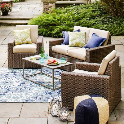 target outdoor patio furniture sets Patio Furniture Sets : Target