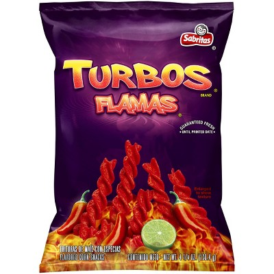 Sabritas Turbos Flamas 425oz Target
