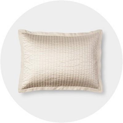 white pillow shams target