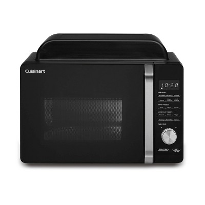 cuisinart 3 in 1 microwave airfryer oven black amw 60