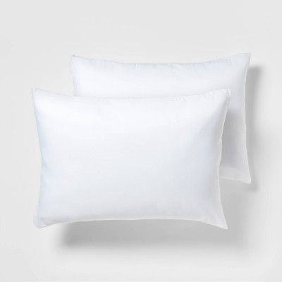 2 pack pillow protector white standard room essentials