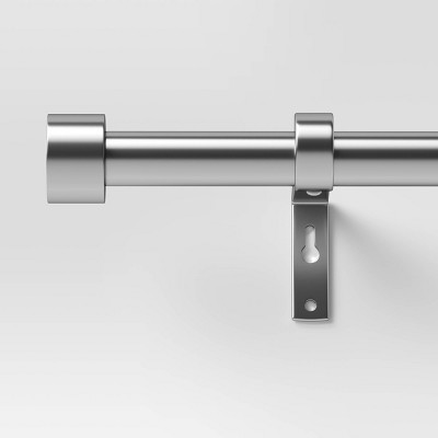 https www target com p 66 34 120 34 dauntless curtain rod brushed nickel project 62 8482 a 53426461