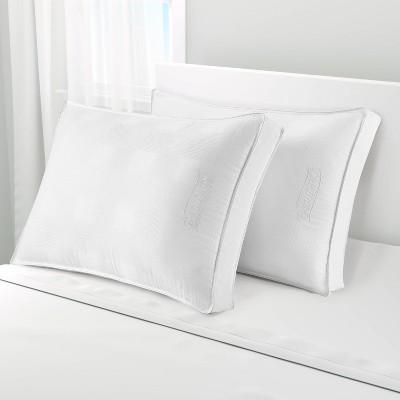 standard queen extra firm 3 gusset bed pillow beautyrest