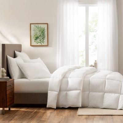 standard queen 2pk down illusion medium bed pillow serta