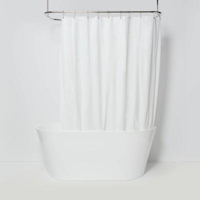 peva medium weight shower liner white made by design