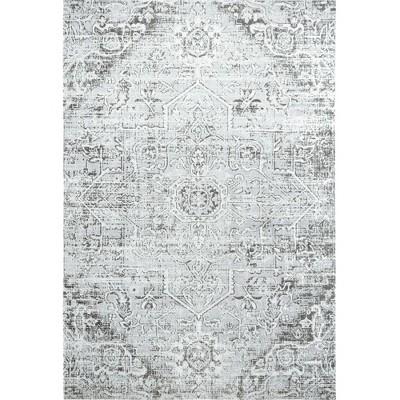 sofia fleur 5 3 x 7 2 outdoor patio rug gray nicole miller