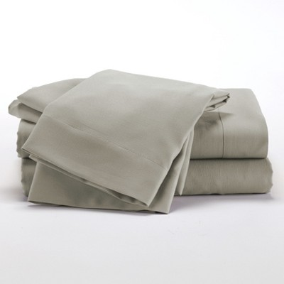 lakeside taupe microfiber bedding sheet set with matching pillowcases queen 4 pieces