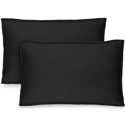 black pillow shams target