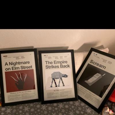27 x 40 profile poster frame black room essentials