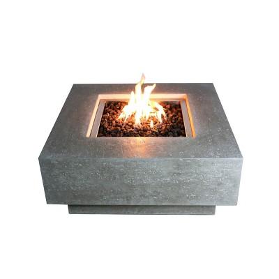 manhattan 36 outdoor fire pit propane table backyard patio heater elementi