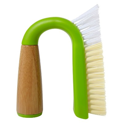 full circle grout and tile scrub brush