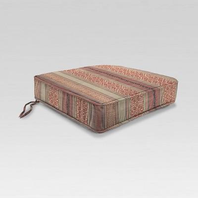 stripe outdoor chair cushion baja jordan manufacturing