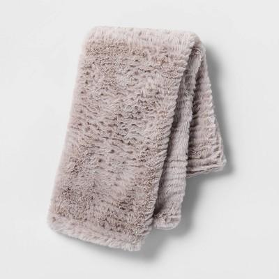cut plush body pillow cover light gray room essentials