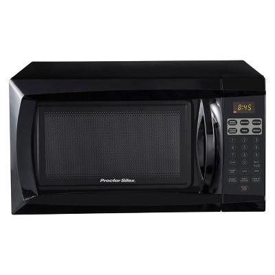 procter silex 0 6 cu ft 700 watt microwave black pscmdi06bk 07