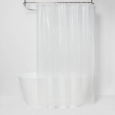 cubic shower curtain clear room essentials