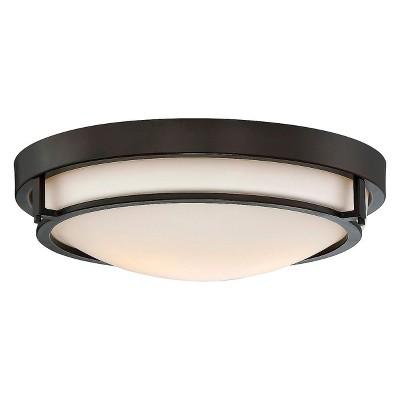ceiling lights flush mount oil rubbed bronze aurora lighting