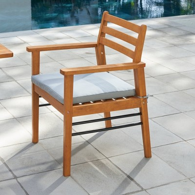 gloucester contemporary wood patio dining chair vifah