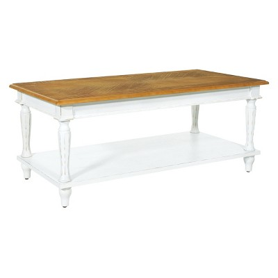 medford coffee table distressed white osp home furnishings