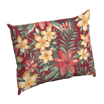 arden selections outdoor pillow back ruby clarissa tropical