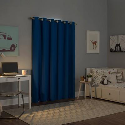 royal blue blackout curtains target
