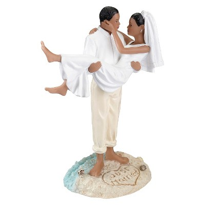 African American Couple Beach Wedding Cake Topper   Target About this item