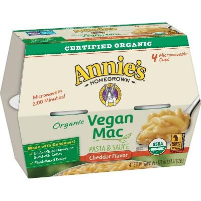 annie s vegan microwave mac cheese 4pk