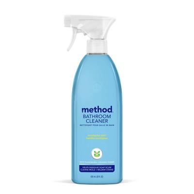 https www target com p method cleaning products bathroom cleaner tub tile eucalyptus mint spray bottle 28 fl oz a 11215618