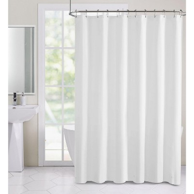 hotel collection heavy weight duty peva shower curtain liner white