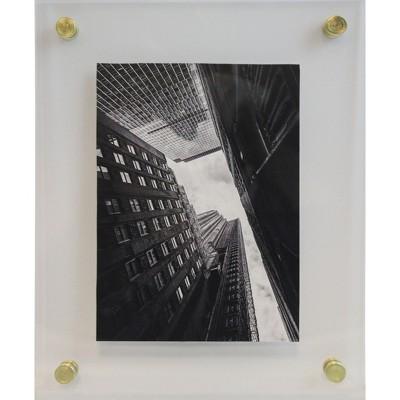8 x 10 acrylic frame clear project 62