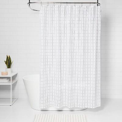 waterproof shower window curtain target