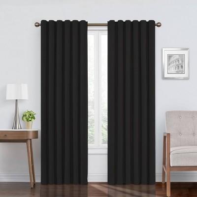 108 x50 bradley absolute zero 100 blackout window panels black eclipse