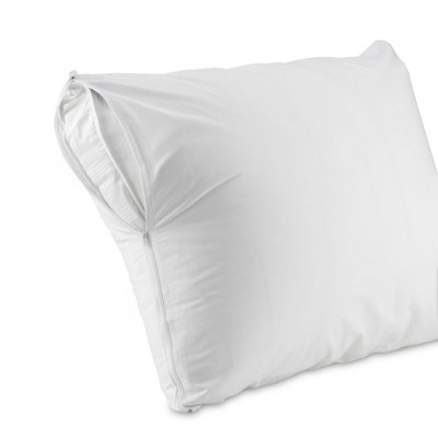 aller ease durable pillow cover 2 pack jumbo