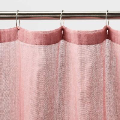 pink shower curtains target