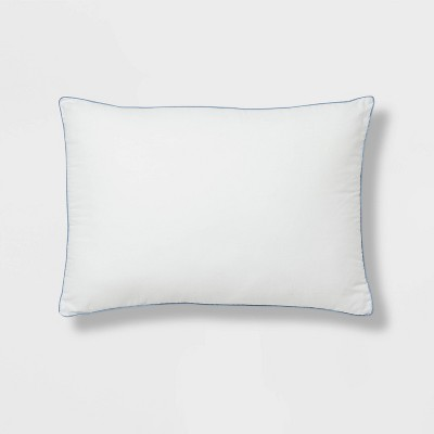 standard queen extra firm down alternative pillow white made by design