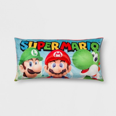 mario body pillow target inventory