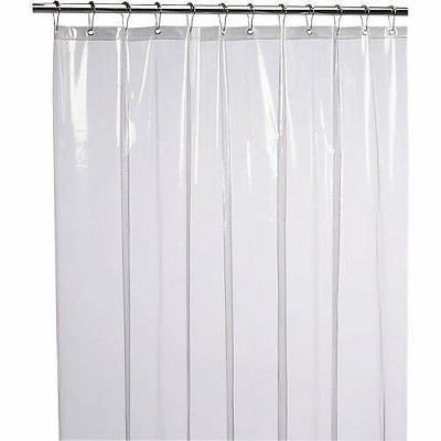 goodgram extra long heavy duty vinyl shower curtain liners super clear