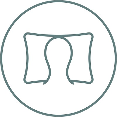 home adaptive support pillow queen white tempur pedic