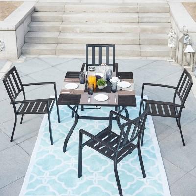 5pc patio dining set patio festival
