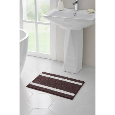 17 x24 alyson mini noodle bath rug brown vcny