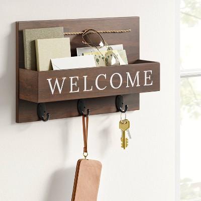 wall hanging mail organizer target